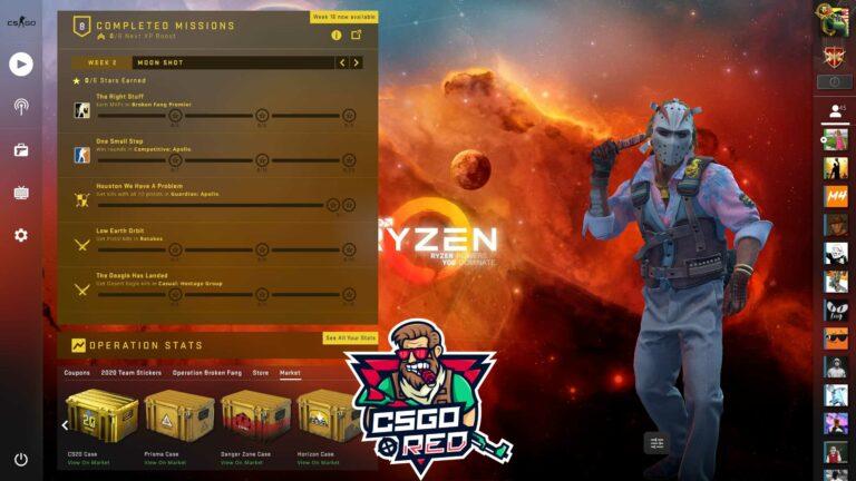 AMD Ryzen Panorama UI Background