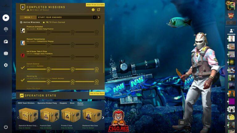AWP Medusa katowice stickers CSGO Panorama UI preview