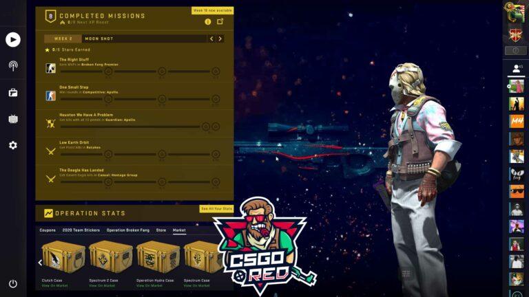 AWP - Redline Panorama UI Background