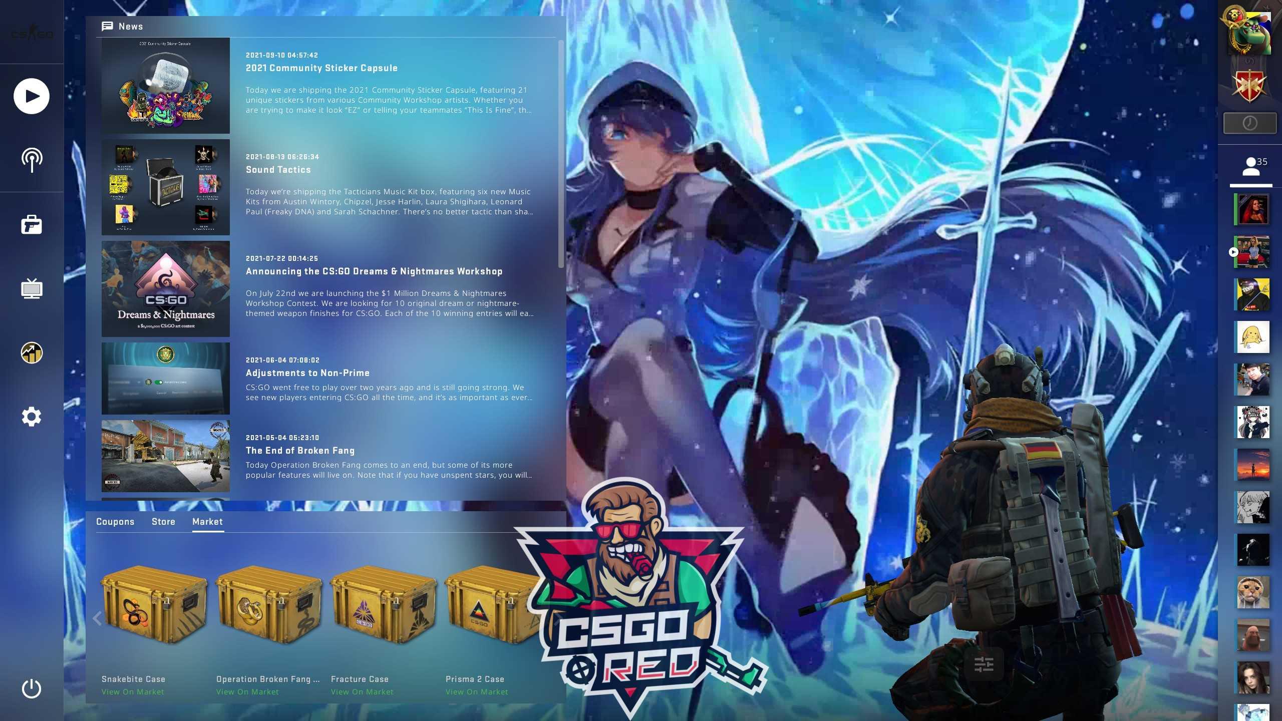 Akame Ga Kill CSGO Panorama UI Background