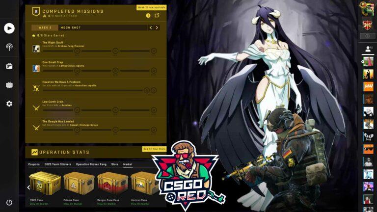 Albedo - Overlord Panorama UI Background