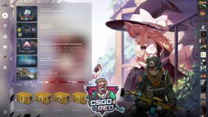 Anime Friends CSGO Panorama UI Background