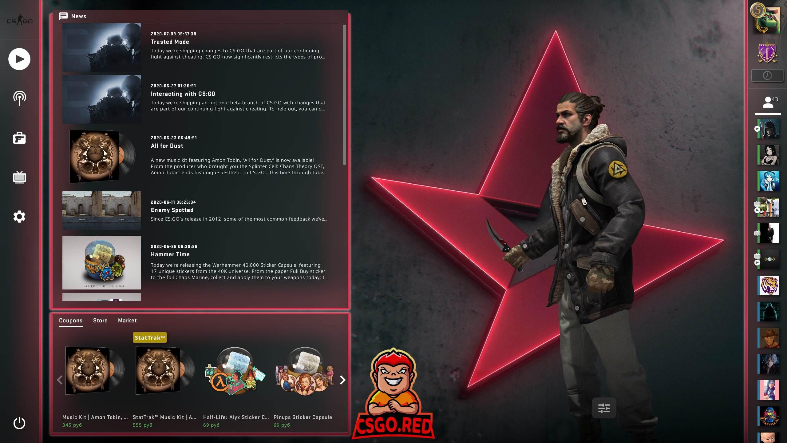 Astralis Panorama UI Background