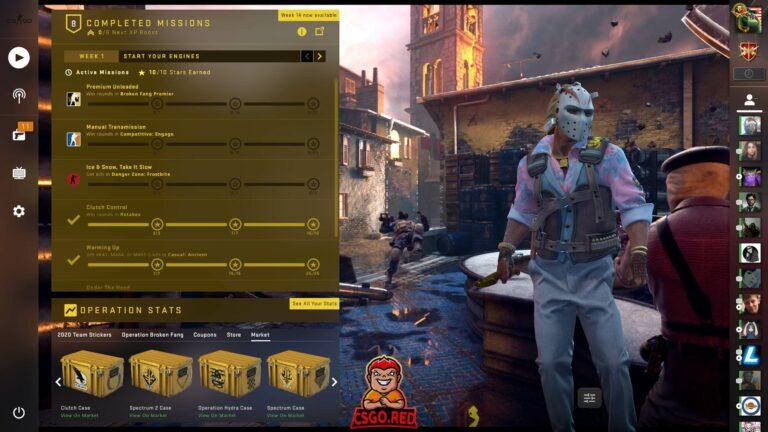 CSGO Panorama UI Inferno Preview