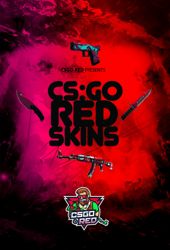 CSGO RED SKINS COLLECTION