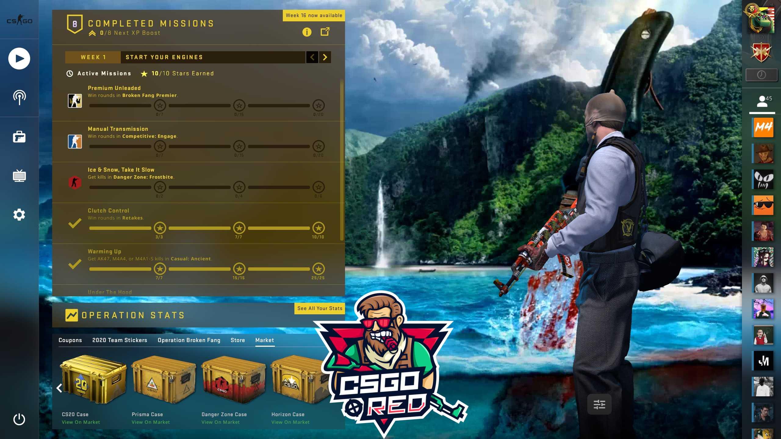Far Cry 3 Knife CSGO Panorama UI Background