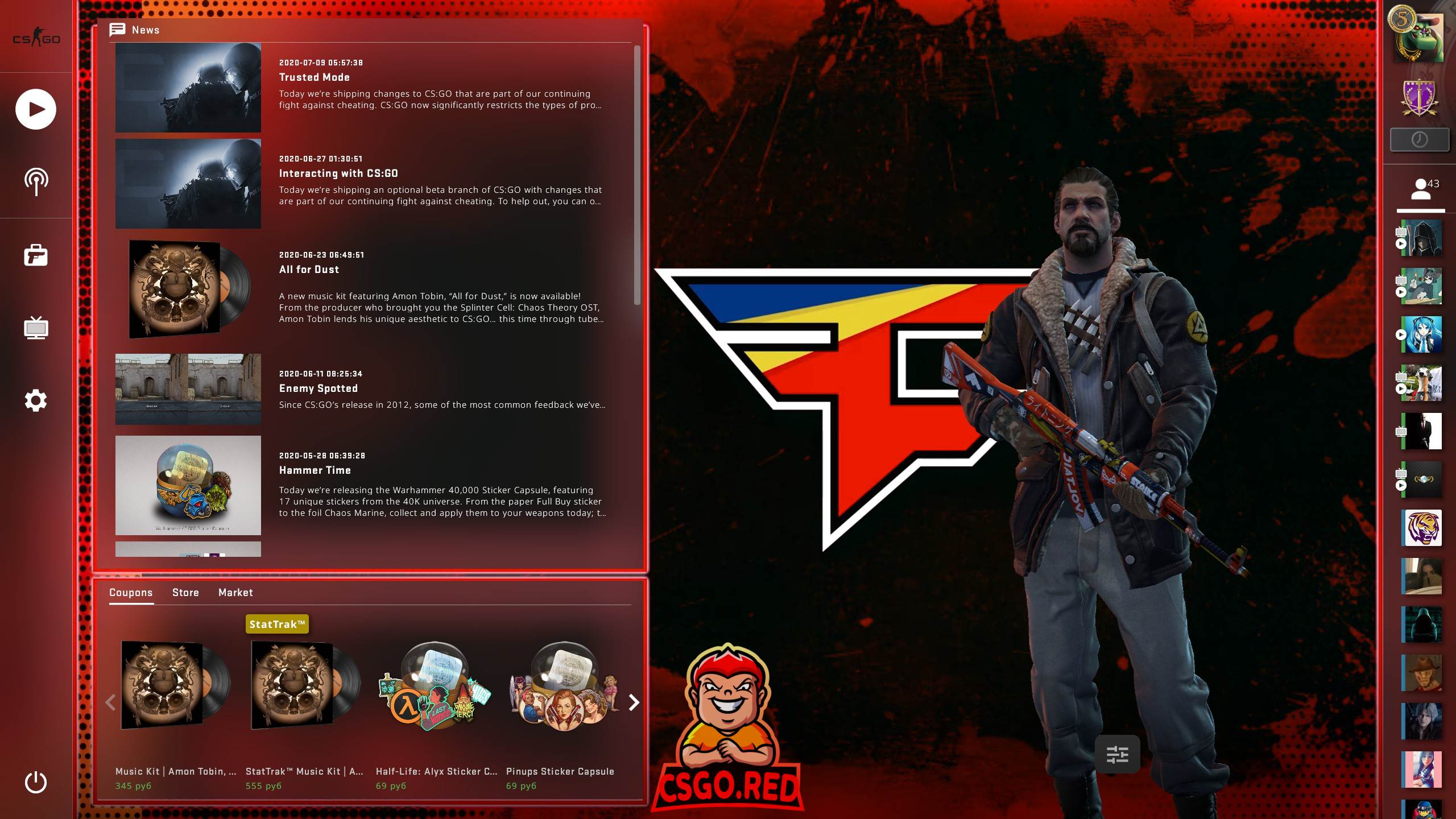 Faze Clan Panorama UI Background