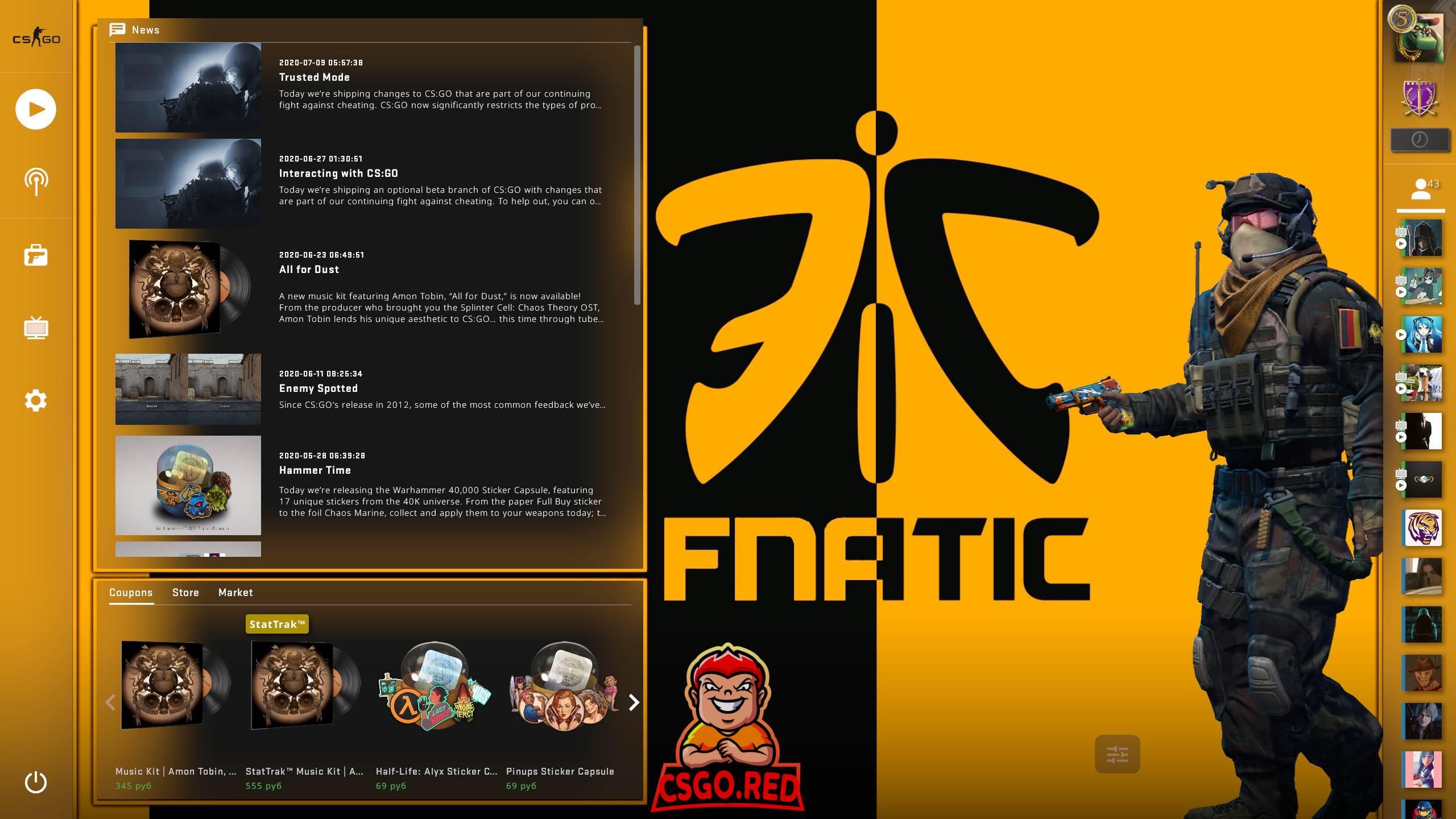 Fnatic Panorama UI Background