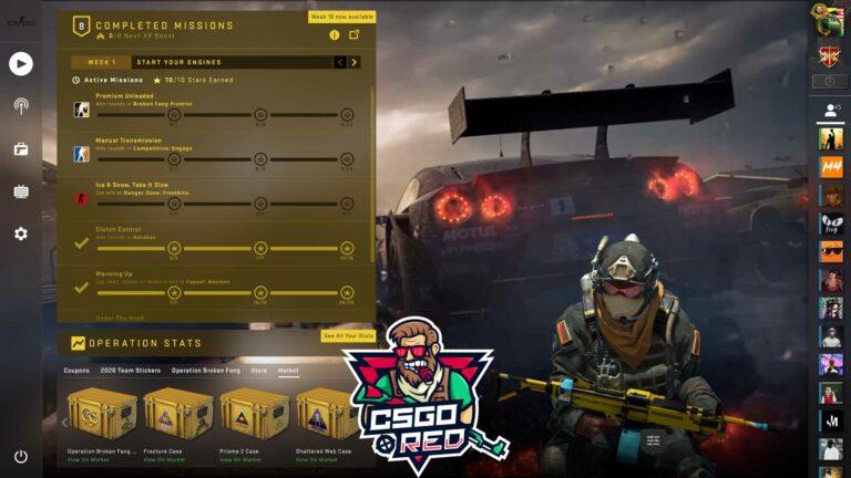 Forza CSGO Panorama UI Background