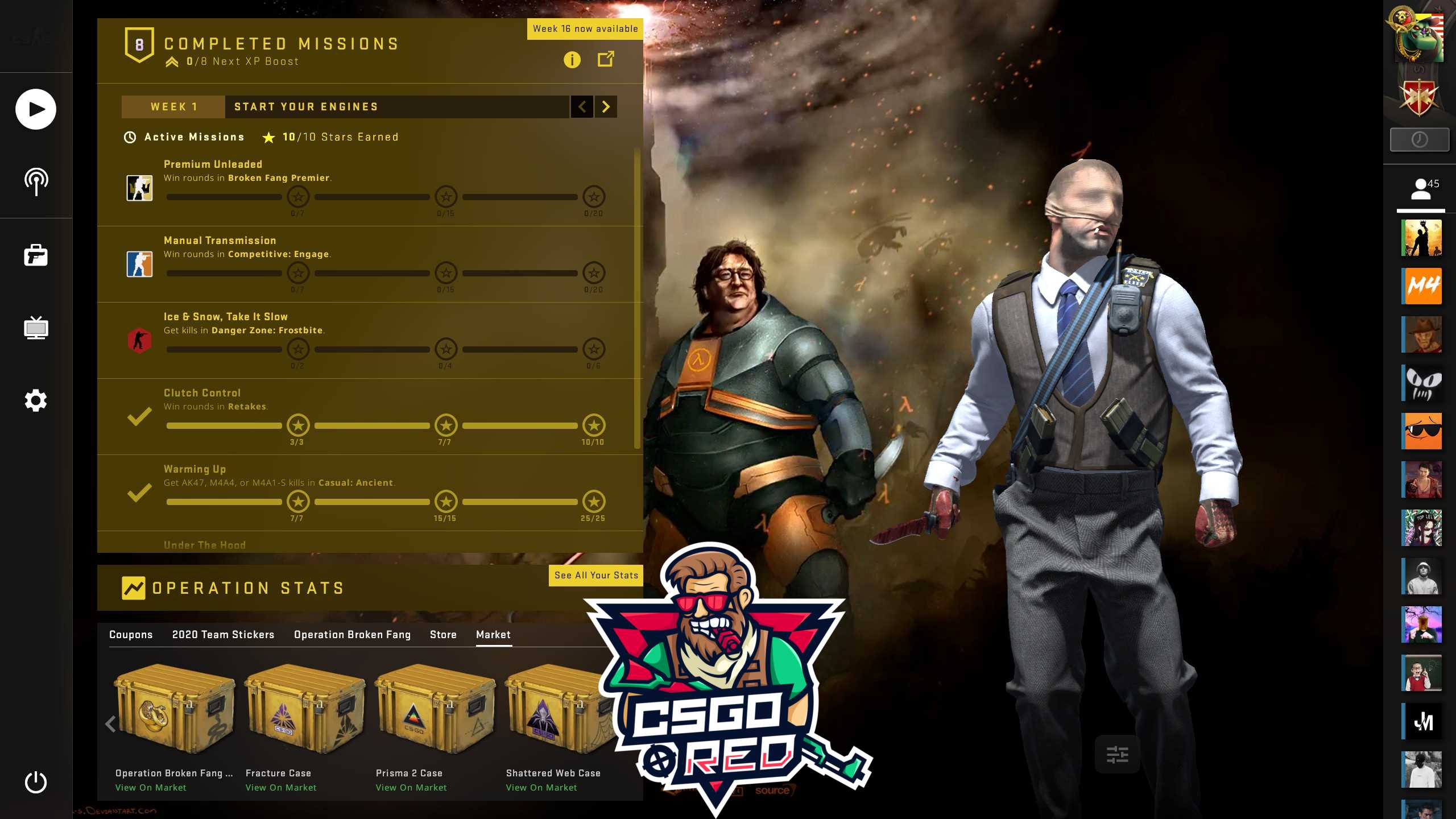 Gaben Half Life 3 Confirmed CSGO Panorama UI Background