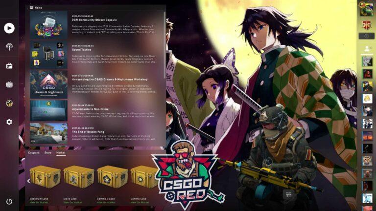 Hashira CSGO Panorama UI Background
