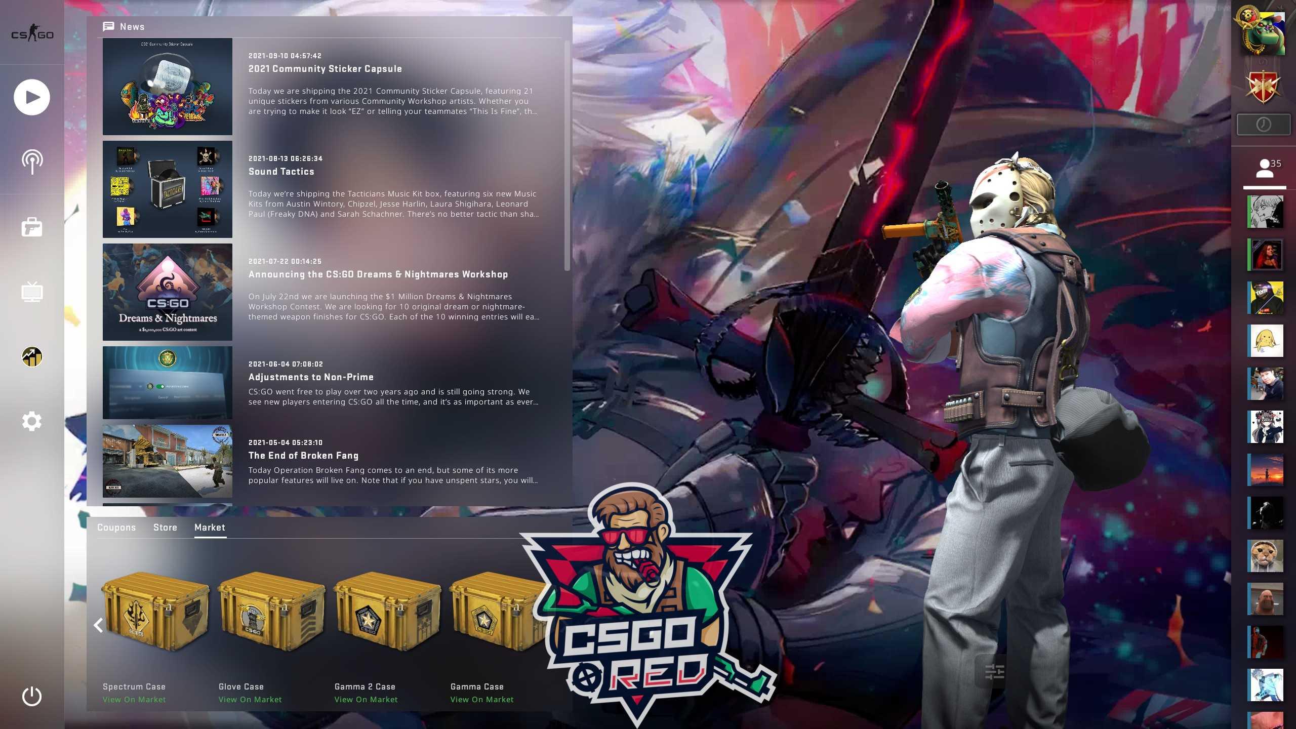 Jeanne Darc Alter Battle CSGO Panorama UI Background