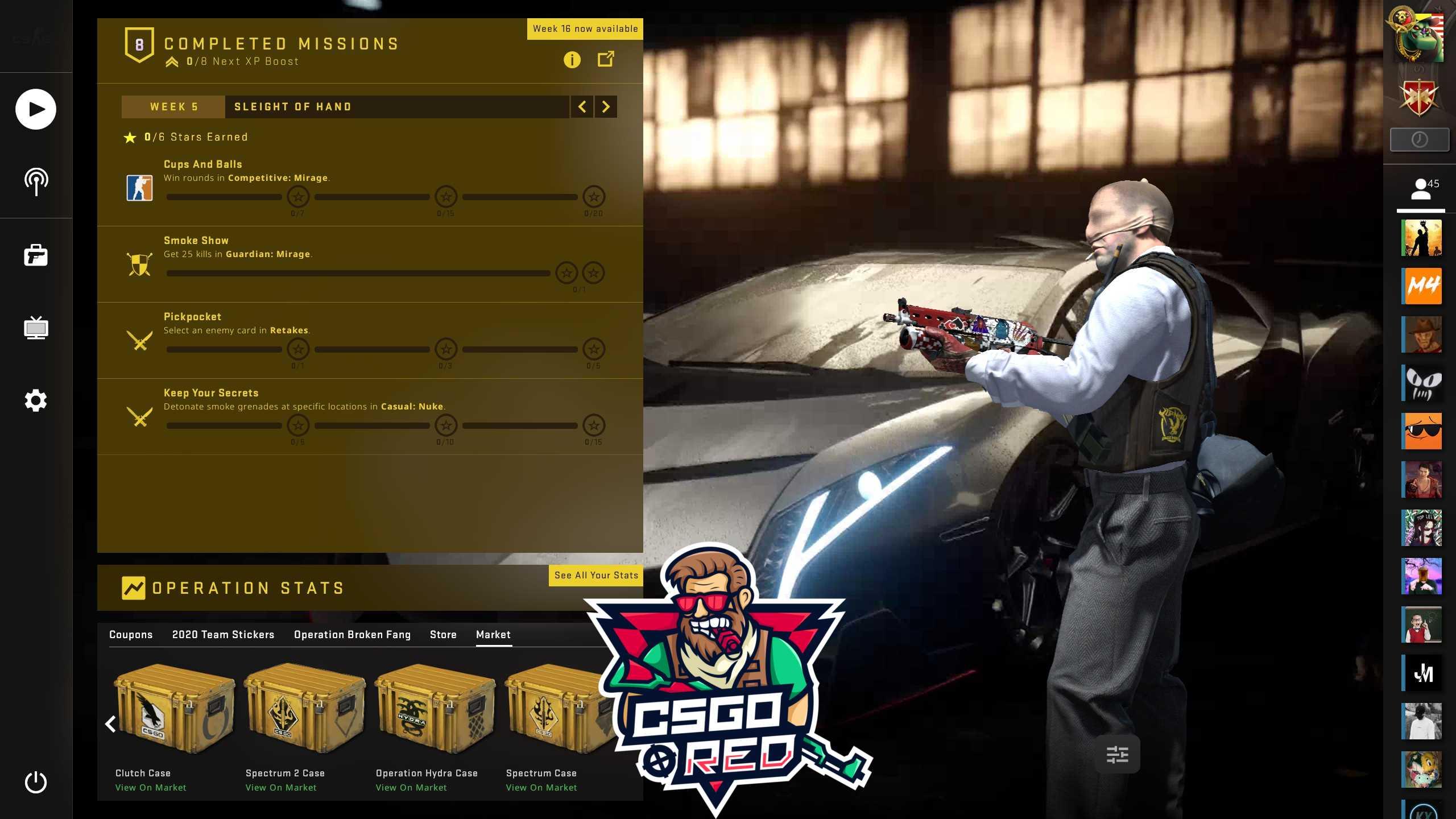 Lamborghini Veneno CSGO Panorama UI Background