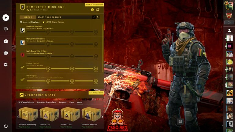 M4A4 Howl Panorama UI Preview