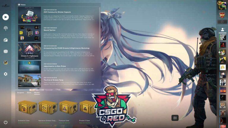 Miku Making A Wish CSGO Panorama UI Background
