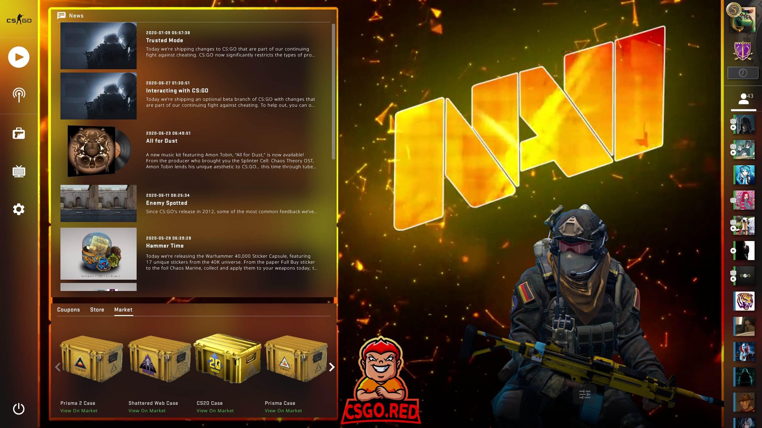 NAVI Panorama UI Background