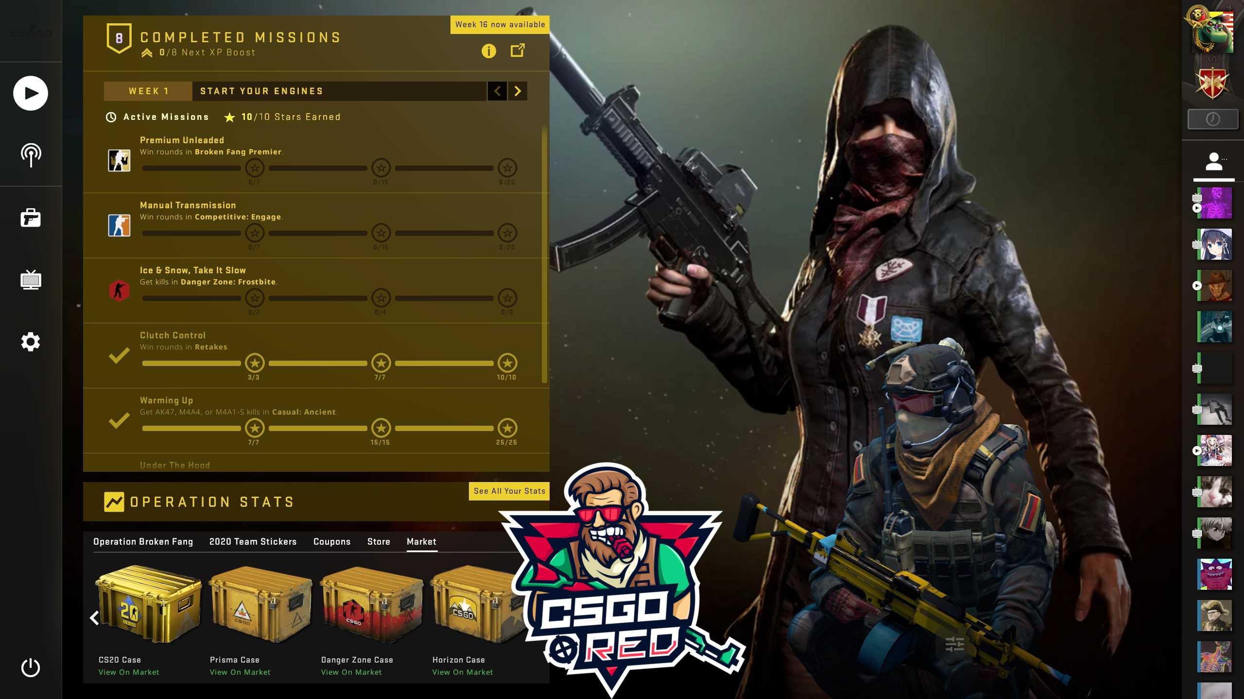PlayerUnknown's Battlegrounds CSGO Panorama UI Background