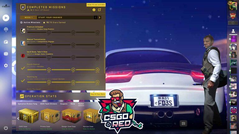 RX7 FD3S CSGO Panorama UI Background