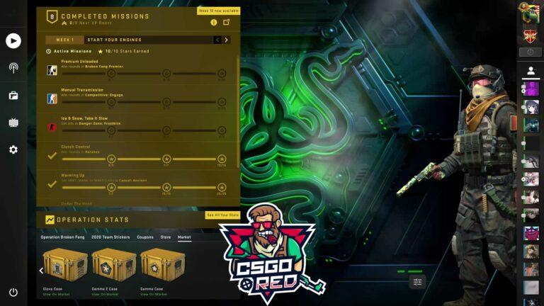 Razer Vault CSGO Panorama UI Background