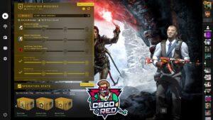 Rise of the Tomb Raider CSGO Panorama UI Background