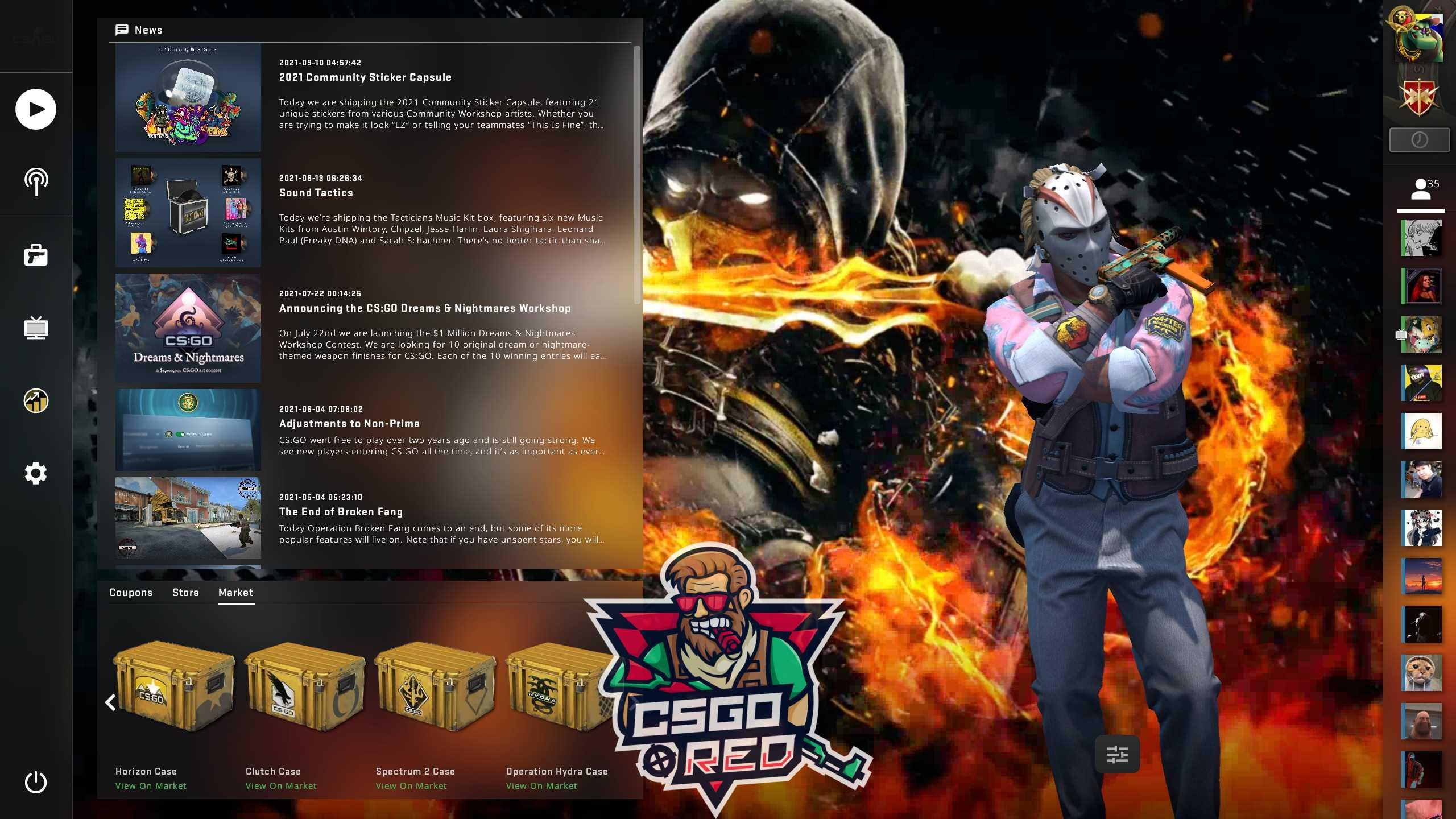 Scorpion from Mortal Combat CSGO Panorama UI Background