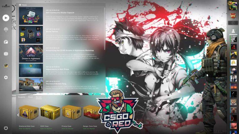 Souma & Erina - Shokugeki no Soma CSGO Panorama UI Background