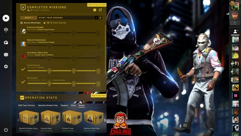 Terrorist with ak-47 csgo panorama UI Preview