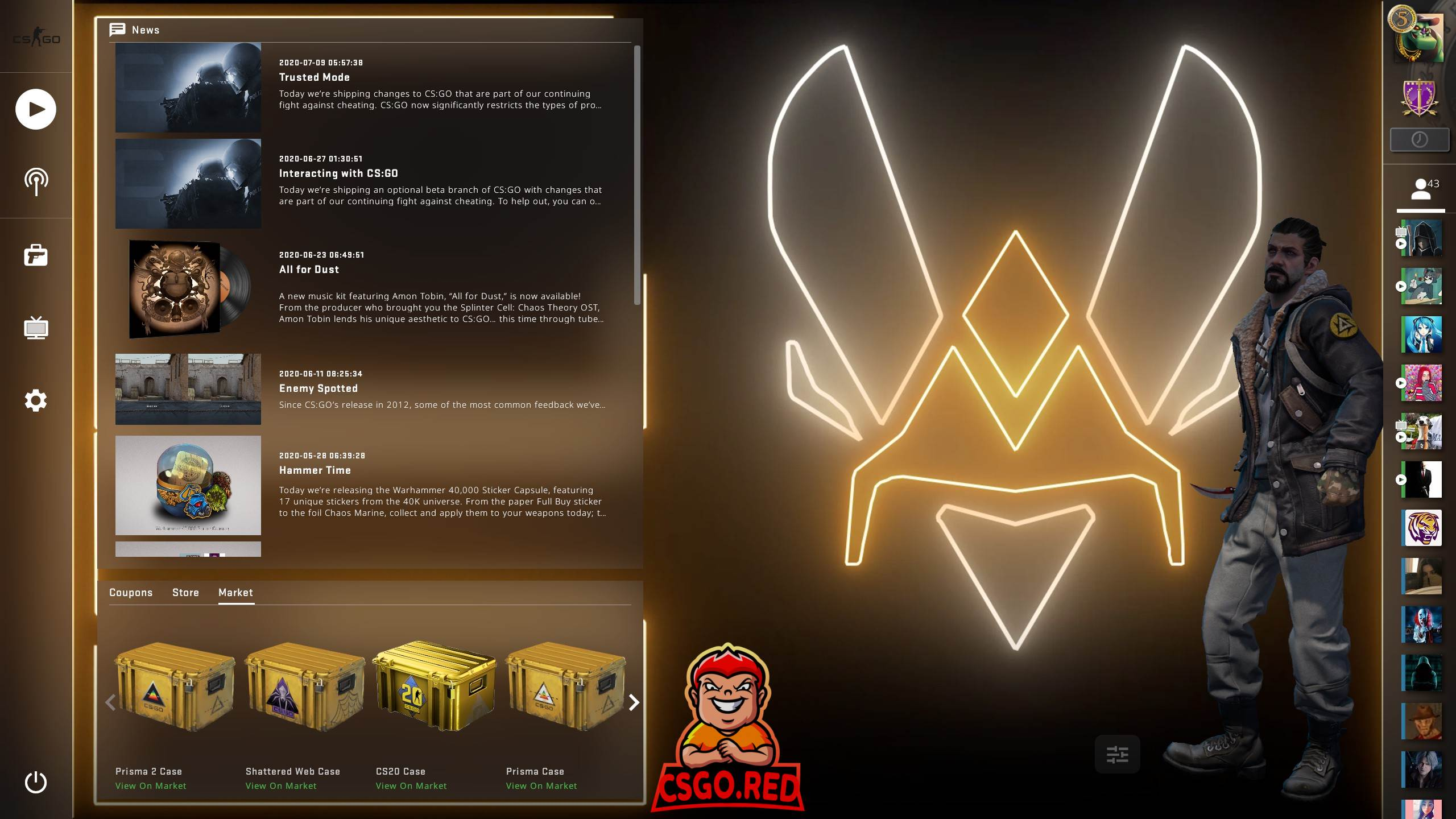 Vitality Animated Panorama UI Background