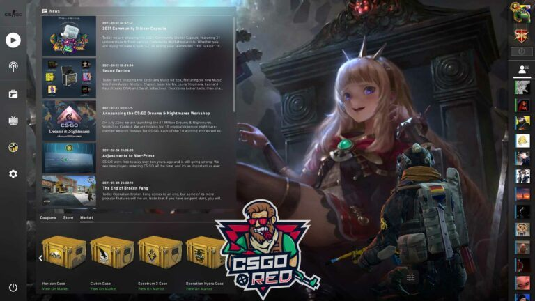 Witch CSGO Panorama UI Background